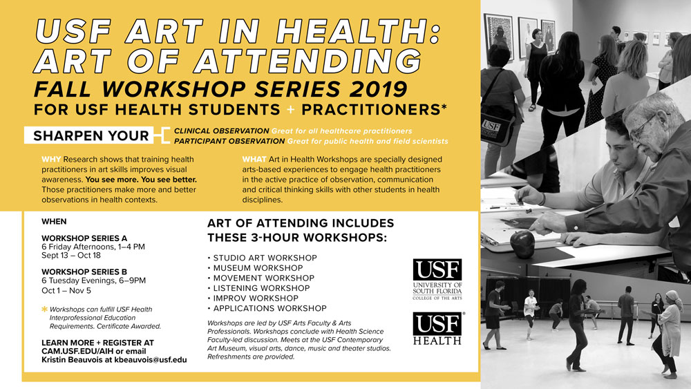 Art of Attending Fall 2019 Workshops