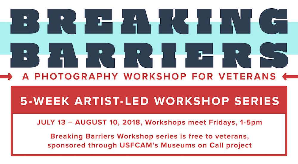 Breaking Barriers - A Photography Workshop for Veterans